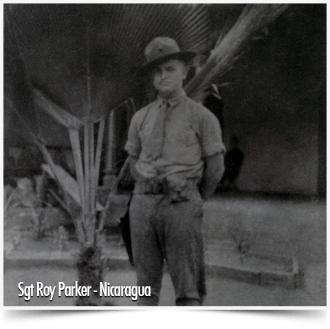 Sargent Roy Parker, USMC