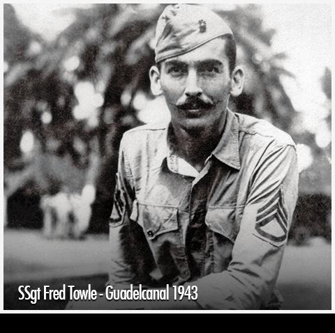 Captain Fred Towle, USMC